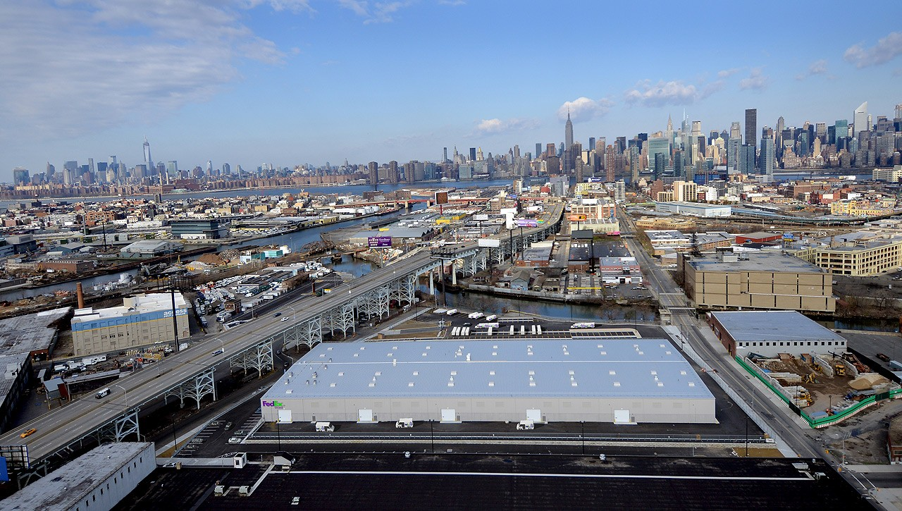 Featured Projects Distribution Center Queens Ny Suncap